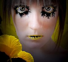 Yellow Pansy by Phoebe Marple-Horvat