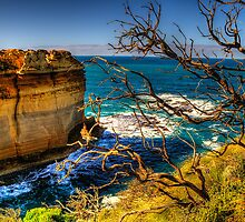 On The Edge - Razorback - Great Ocean Road - The HDR Experience by Philip Johnson