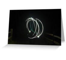 Circle of Light Greeting Card