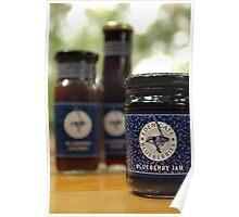 Mmmm-mmm Blueberry Jam Poster