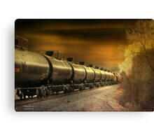""" Mirrored Tanker "" Canvas Print"