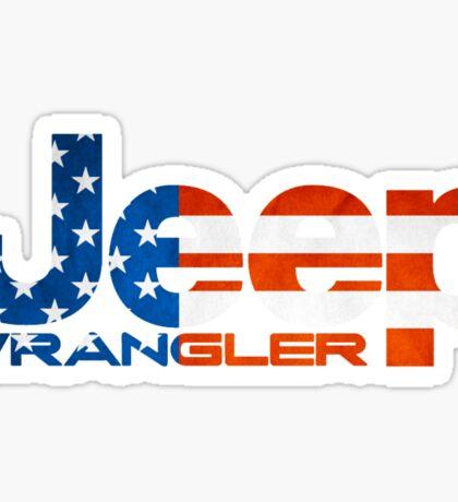 Jeep Wrangler  Sticker