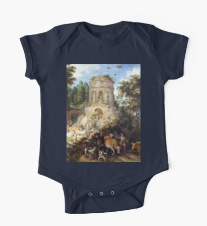 an incredible Egypt landscape One Piece - Short Sleeve