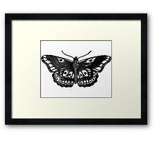 Harry Styles Butterfly Tattoo Framed Print