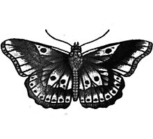 Harry Styles Butterfly Tattoo Photographic Print
