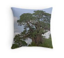 Mopane Baobab Throw Pillow