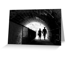 Journeys End Greeting Card