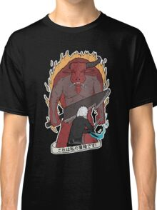 'THIS IS MY ADVENTURE!' Bell Cranel vs the Minotaur Classic T-Shirt