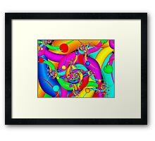 Simply Colorful Framed Print