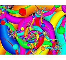 Simply Colorful Photographic Print