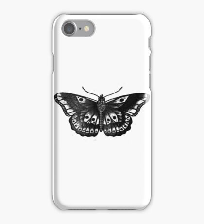 Harry Styles Butterfly Tattoo iPhone Case/Skin