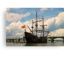 A Pirates Way Canvas Print