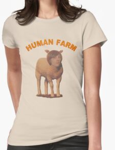 Human Farm Womens Fitted T-Shirt
