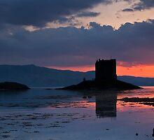 Castle Stalker II, Scotland by Scott Moncrieff