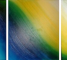 Abstract triptych by creativeborn