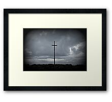 The Storms A Comin' Framed Print