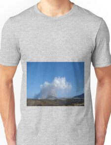 Tasmanian Blowhole - Blowing into the Blue Unisex T-Shirt