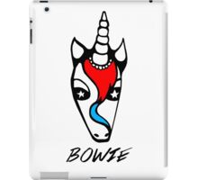 Bowie the Unicorn (David Bowie) iPad Case/Skin