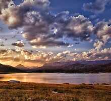 Evening Over Island Lake by Kathy Weaver