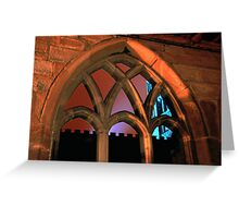 Durham Cathedral Cloisters Greeting Card