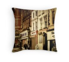 Down By Grand Central Throw Pillow
