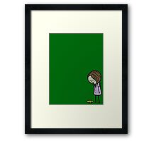 This...once meant…something... Framed Print