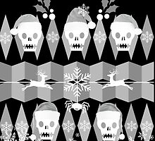 Ugly Goth Christmas Sweater by RdwnggrlDesigns