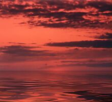 Ocean and Sky after Sunset by PhotoWorks