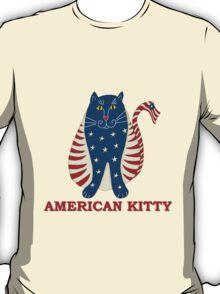 American Kitty T-Shirt