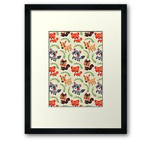 The Happy Forest Friend Framed Print
