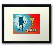 Pokemon Finn Framed Print