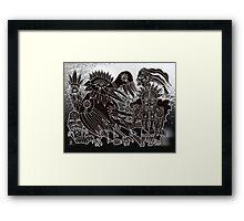 crow sundance Framed Print