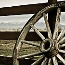 A Wheel and the Butte by Teri Argo