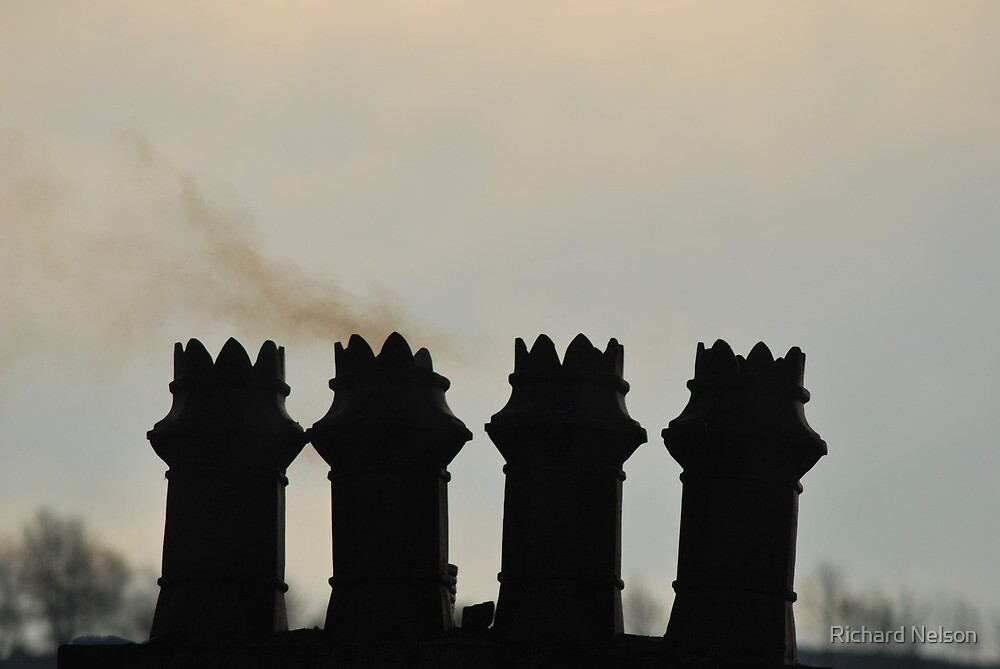 Smoking Chimney by Richard Nelson