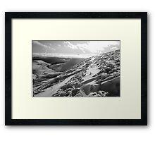 Beacons snow Framed Print