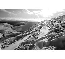 Beacons snow Photographic Print