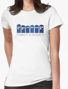 Fancy a ride? Womens Fitted T-Shirt