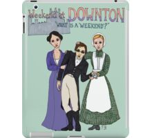 Weekend at Downton iPad Case/Skin