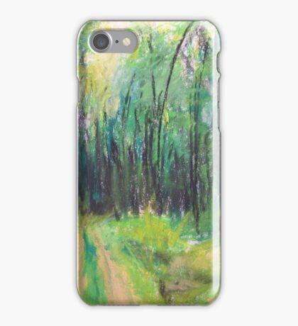 Wald (pastel) iPhone Case/Skin