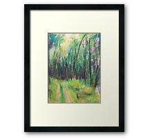 Wald (pastel) Framed Print