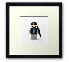Rebel Trooper from the Wars in the Star Framed Print