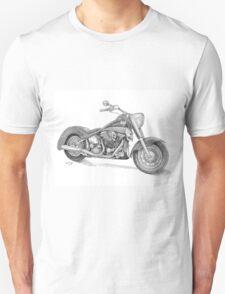 Harley Davidson Drawing Unisex T-Shirt
