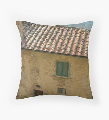 Montepulciano, Italy Throw Pillow
