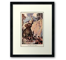 The Trail Book by Mary Hunter Austin art Milo Winter 1918 0010 Arr rr ump Framed Print