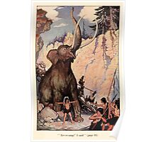 The Trail Book by Mary Hunter Austin art Milo Winter 1918 0010 Arr rr ump Poster
