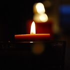 Bokeh Candles by babibell