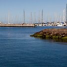 Enter the Harbour - Geelong Yacht Club by Rhonda F.  Taylor