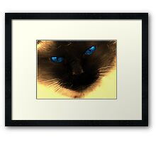 look deep Framed Print