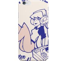 Vinyl Girl LP Mix iPhone Case/Skin