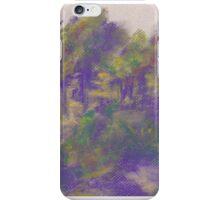 Distant Grove (pastel) iPhone Case/Skin
